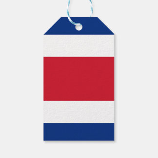 Costa Rica Flag Gift Tags