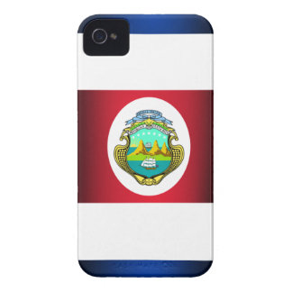 Costa Rica Flag Iphone 4/4S Case-Mate Case