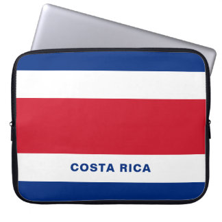 Costa Rica Flag Laptop Sleeve