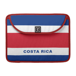 Costa Rica Flag MacBook Sleeve Pro