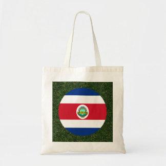 Costa Rica Flag on Grass