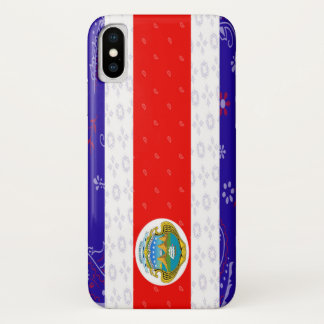 Costa Rica Flag Phone Case
