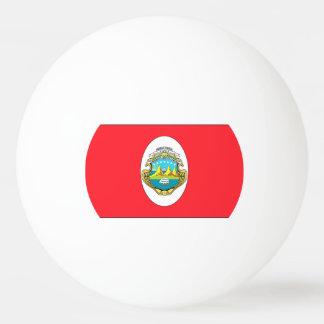 Costa Rica Flag Ping-Pong Ball