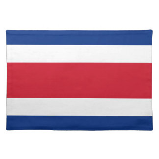 Costa Rica Flag Placemat