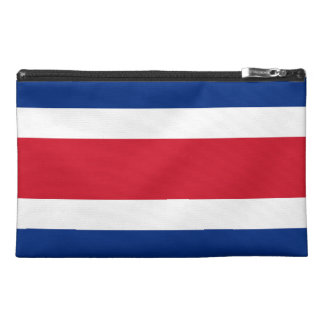 Costa Rica Flag Travel Accessory Bags