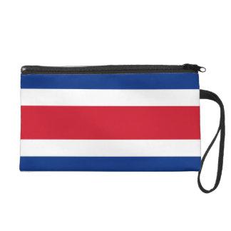 Costa Rica Flag Wristlet