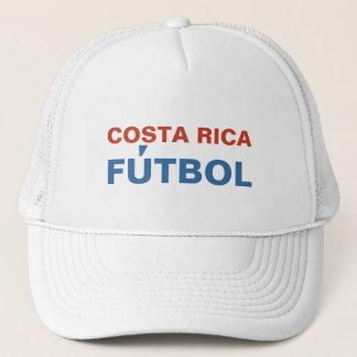 COSTA RICA FUTBOL TRUCKER HAT