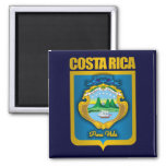 """""""Costa Rica Gold"""" Gift Ideas Square Magnet"""