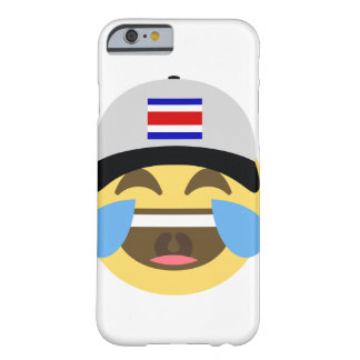 Costa Rica Hat Laughing Emoji Barely There iPhone 6 Case