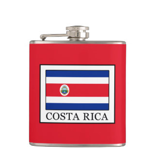 Costa Rica Hip Flask