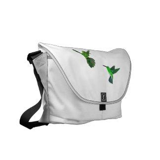 Costa Rica Hummingbirds Messenger Bags