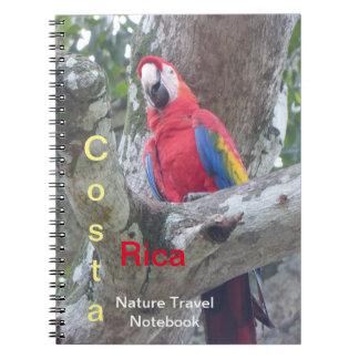 Costa Rica Jungle Bird Travel Notebook