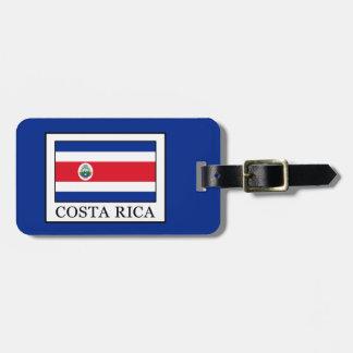 Costa Rica Luggage Tag