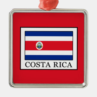 Costa Rica Metal Ornament