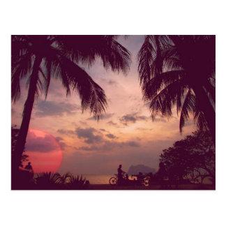 Costa Rica Playa Flamingo Paradise Found Postcard