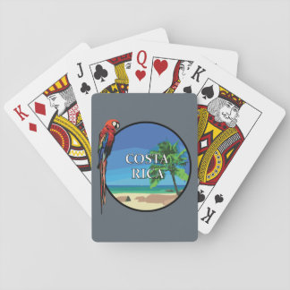 Costa Rica - Playing Cards, Standard Index faces Poker Deck