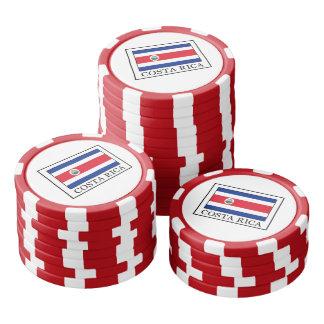 Costa Rica Poker Chips