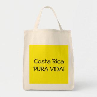 Costa Rica Pura Vida Grocery Tote