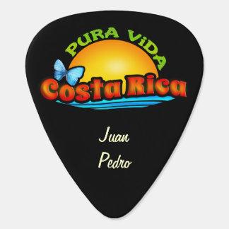 Costa Rica Pura Vida Guitar Pick