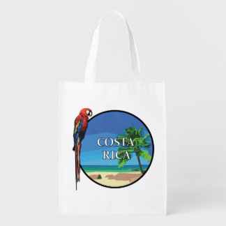 Costa Rica - Reusable Bag Market Tote