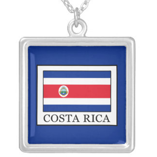 Costa Rica Silver Plated Necklace