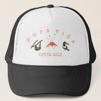 Costa Rica Sloth Volcano Toucan Souvenir Hat