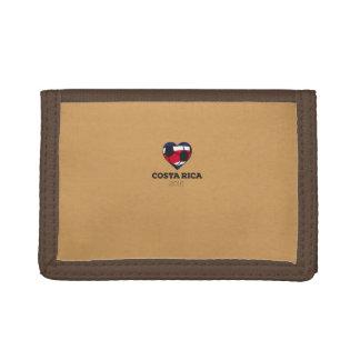 Costa Rica Soccer Shirt 2016 Trifold Wallet