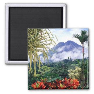 Costa Rica Square Magnet