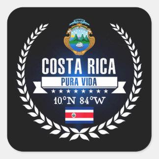 Costa Rica Square Sticker