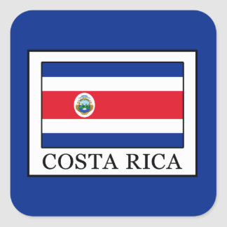 Costa Rica Square Sticker