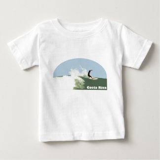 Costa Rica Surf Baby T-Shirt