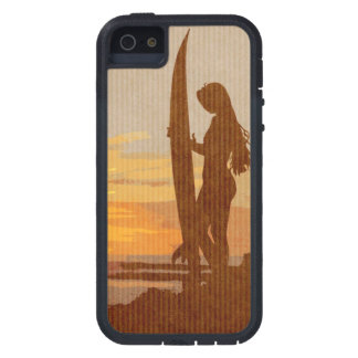 Costa Rica Surfer Girl iPhone 5 Cover