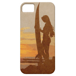 Costa Rica Surfer Girl iPhone 5 Covers