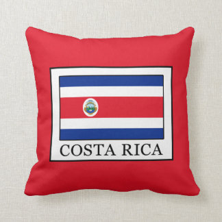 Costa Rica Throw Pillow