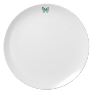 Costa Rica Tiny Butterfly Melamine Plate