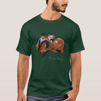 Costa Rica Titi Monkey T-Shirt