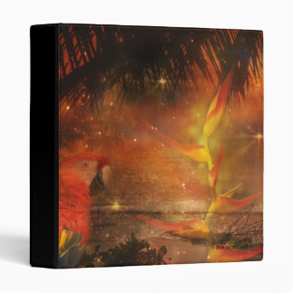 Costa Rica - Travel and Holiday Destination 3 Ring Binder