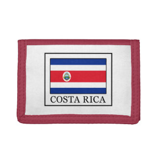 Costa Rica Trifold Wallet
