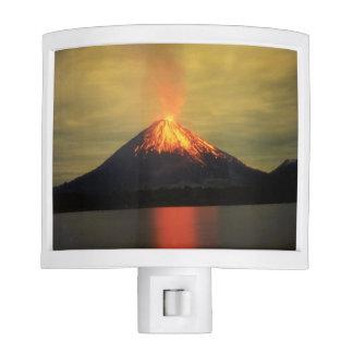 Costa Rica Volcano Night Lights