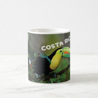 Costa Rica with Toucan Coffee Mug