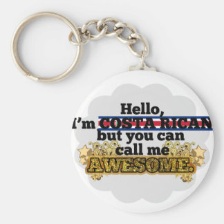 Costa Rican, but call me Awesome Keychain
