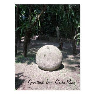 Costa Rican Stone Sphere Postcard