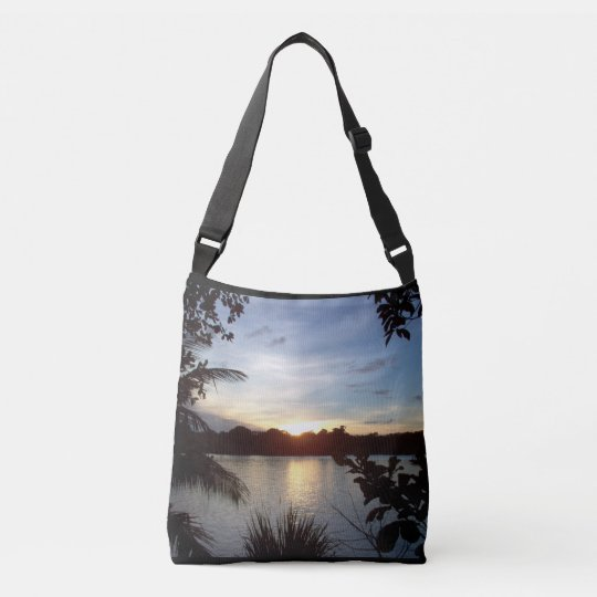 Costa Rican Sunset - Tortuguero Evening Crossbody Bag