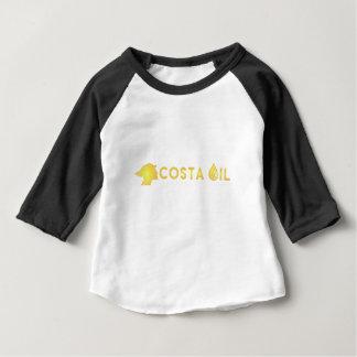 costaoilwhitretexttrans baby T-Shirt