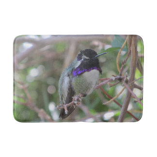 Costa's Hummingbird Bath Mat