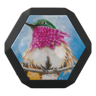 Costa's Hummingbird Black Bluetooth Speaker