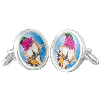 Costa's Hummingbird Cufflinks