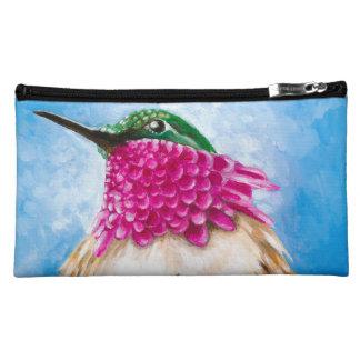 Costa's Hummingbird Makeup Bag