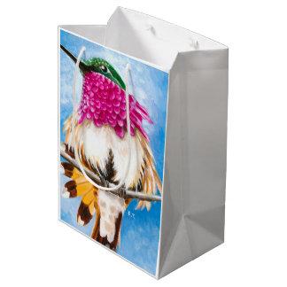 Costa's Hummingbird Medium Gift Bag