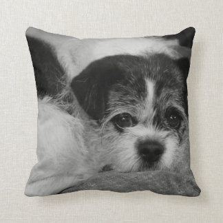 Costomizable Add Pet Photo Throw Pillow